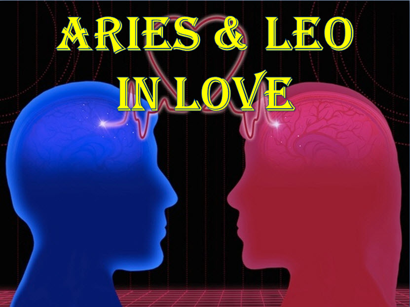 Aries Love Compatibility Horoscope With Leo Man Or Woman Zodiac Signs