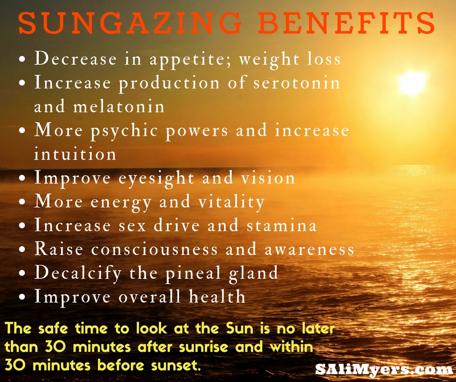 Sun Gazing Benefits Of Sunlight And How To Stare At The Sun Effectively - A Step by Step Tutorial